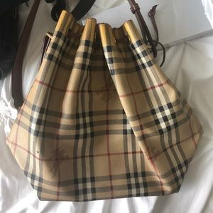 Vintage Burberry Bucket Bag